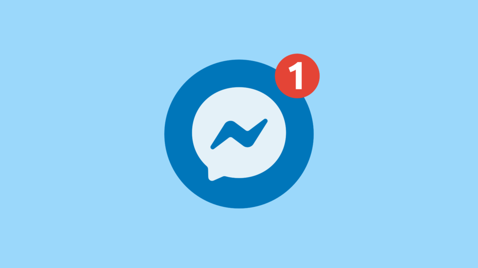 طراحی و لوگوی جدید پیام رسان Messenger فیسبوک